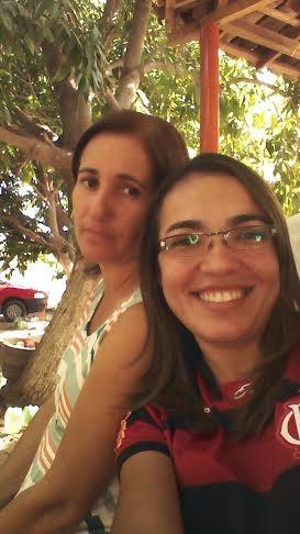 Tamires Sampaio é muito ligada à família (Foto: Arquivo Pessoal)