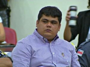 Raphael Souza foi condenado a nove anos de prisão (Foto: Reprodução/TV Amazonas)