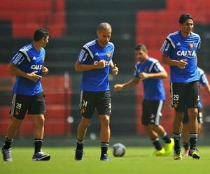 Treino jogadores Sport (Foto: Aldo Carneiro / Pernambuco Press)