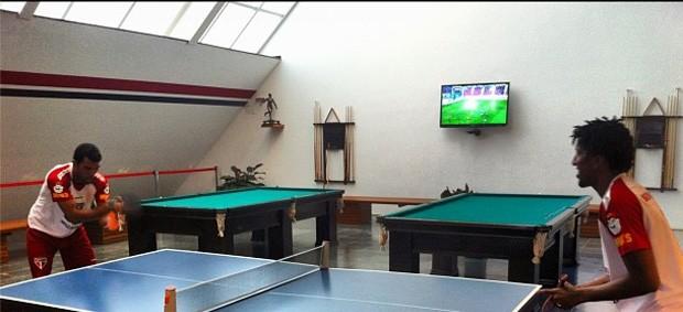 Maicon e cortez ping pong são paulo (Foto: Reprodução / Instagram)