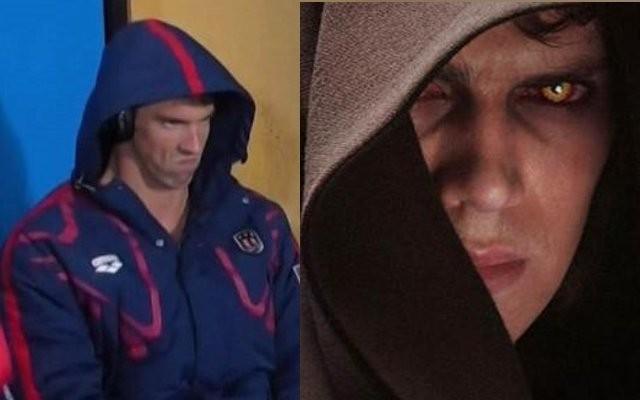 Seria Phelps 'o escolhido'? (Foto: Reprodução/Twitter)