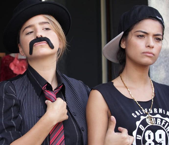 Camila e Krica brabonas? Temos também! ;) (Foto: Letícia Souza/Gshow)