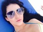 Claudia Alende sonha ser dublê de Megan Fox em cenas sensuais