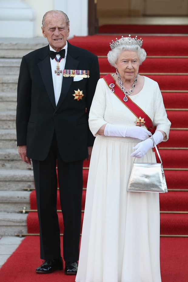 Príncipe Philip e Rainha Elizabeth II (Foto: Getty Images)