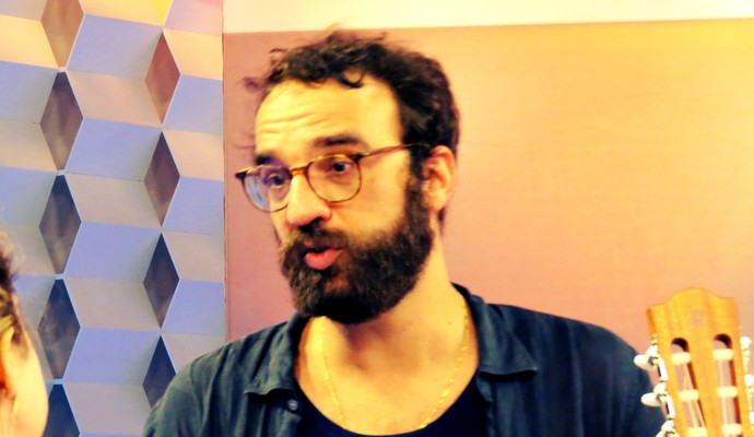 O cantor e compositor vascaíno Marcelo Camelo (Foto: Daniel Cardoso)
