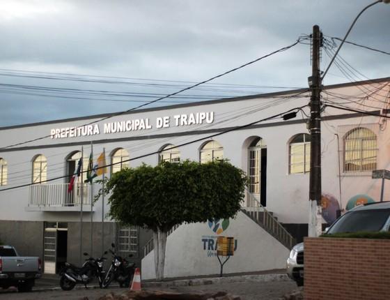 Prefeitura de Traipu (Foto: Divulgação)