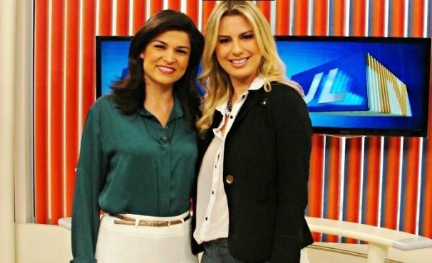 Ex BBB Fernanda nos bastidores da TV Liberal (Foto: Geovany Dias)