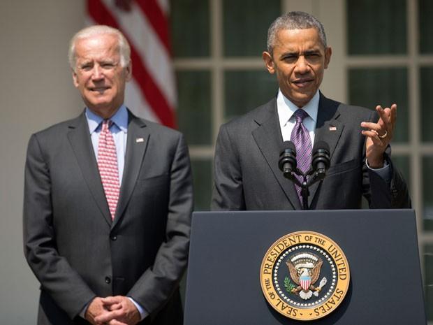O presidente dos Estados Unidos, Barack Obama, anuncia a retomada das relações diplomáticas com Cuba nesta quarta-feira (1) (Foto: Pablo Martinez Monsivais/AP)
