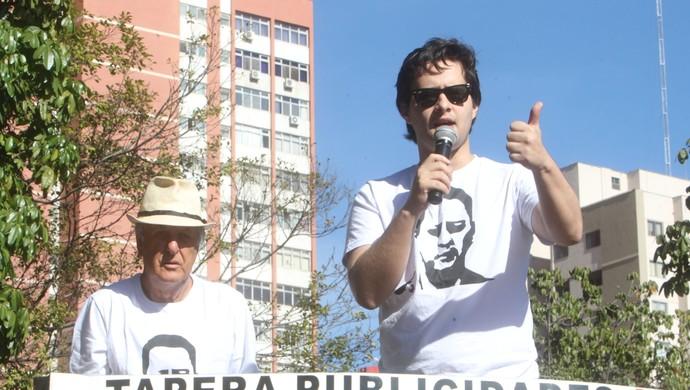 Mané de Oliveira e Valério Luiz Filho (Foto: O Popular)