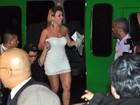 Fani, Natalia Casassola e outros ex-BBBs curtem festa em boate no Rio