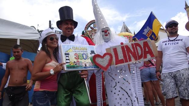 FOTOS: Foliões já contam os dias para o carnaval 2014 (Manoel Filho/TV Globo)