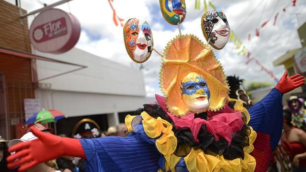 FOTOS: Papangus enfeitam o carnaval de Bezerros (Luka Santos / G1)