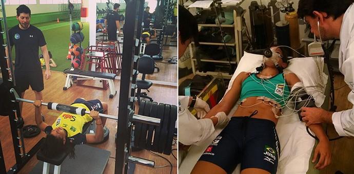 Sarah Menezes em, período de testes com a seleção brasileira de judô (Foto: Reprodução/Instagram)