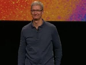 Tim Cook na apresentação do iPad mini (Foto: Reprodução)