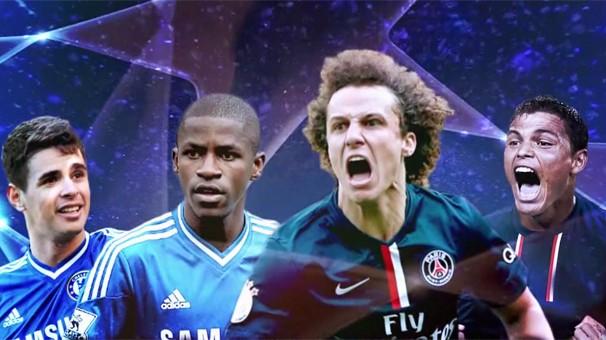 a Globo exibe o duelo Chelsea x Paris Saint-Germain pelo jogo de volta, no estádio Stamford Bridge, casa do Chelsea, em Londres (Foto: Reprodução)