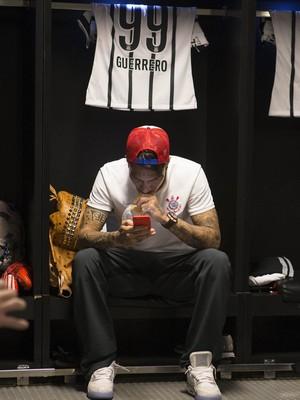 Paolo Guerrero Corinthians (Foto: Daniel Augusto Jr / Agência Corinthians)