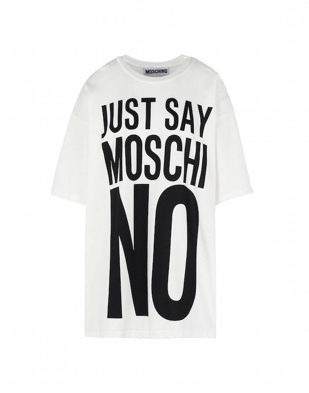 Camiseta da coleção cápsula Moschino Primavera/Verão 2017 (Foto: Reprodução)
