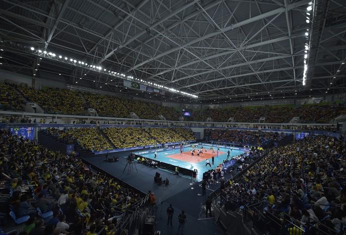 Brasil x EUA - Liga Mundial de Vôlei Arena Carioca 1  (Foto: Divulgação/FIVB)