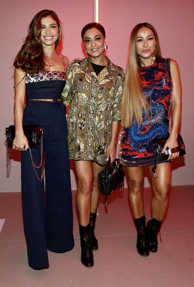 Grazi Massafera, Juliana Paes e Sabrina Sato (Foto: Manuela Scarpa/Brazil News)