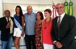 Garota Verão 2015 é homenageada na Câmara Municipal de Torres