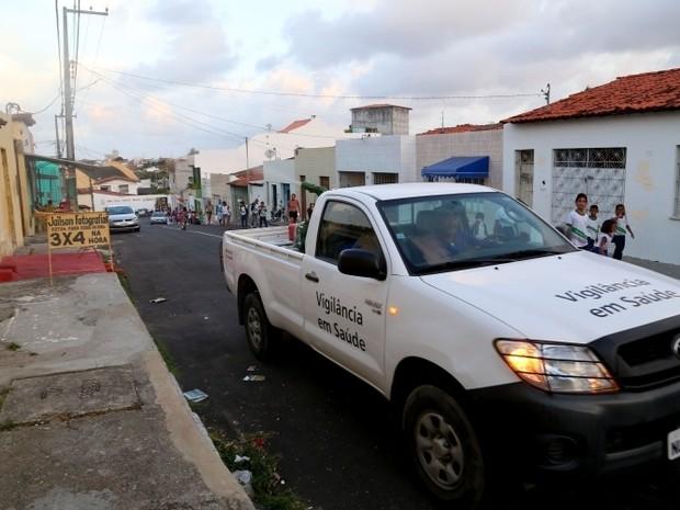 Carro fumacê vai circular em bairros de Aracaju nesta semana (Foto: SMS/Divulgação)