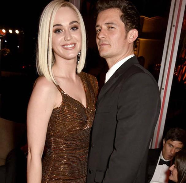 Orlando Bloom e Katy Perry  (Foto: Reprodução)