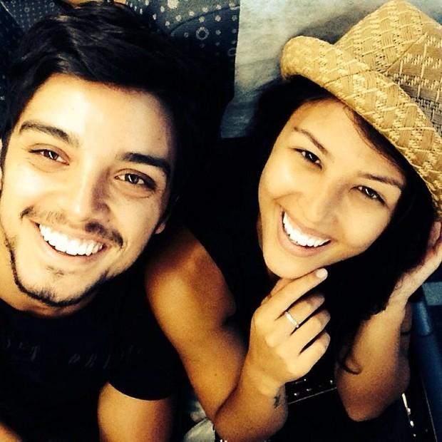 Rodrigo Simas e Yanna Lavigne (Foto: Reprodução / Instagram)