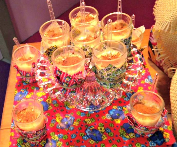 Especialista dá dicas de decoraç u00e3o e comidinhas para a festa junina; confira passo a passo e  -> Decoração De Festas Com Xícaras