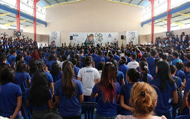 Primeira edição contou com a participação de 800 crianças e jovens (Foto: Gisa Almeida/ Rede Amazônica)
