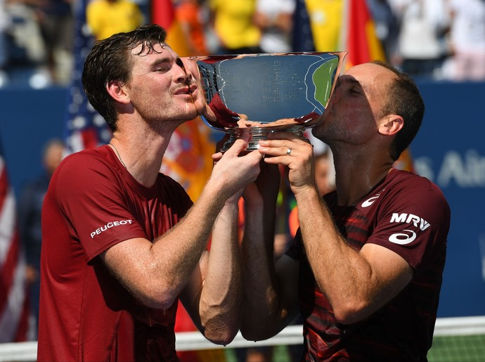 Bruno Soares e Jamie Murray US Open 2016 (Foto: Reuters)
