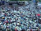 Egito tem manifestações pró e contra Morsi na primeira sexta do Ramadã