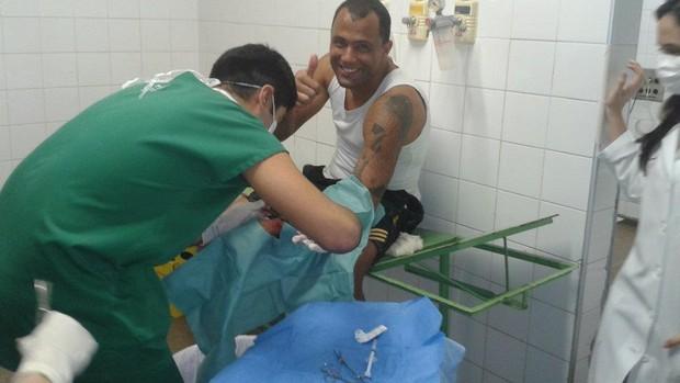 Genivaldo, goleiro do Sousa (Foto: Divulgação)