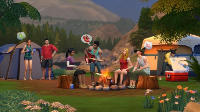 Outdoor Retreat trará novas atividades ao ar livre em The Sims 4 (Foto: Kotaku)