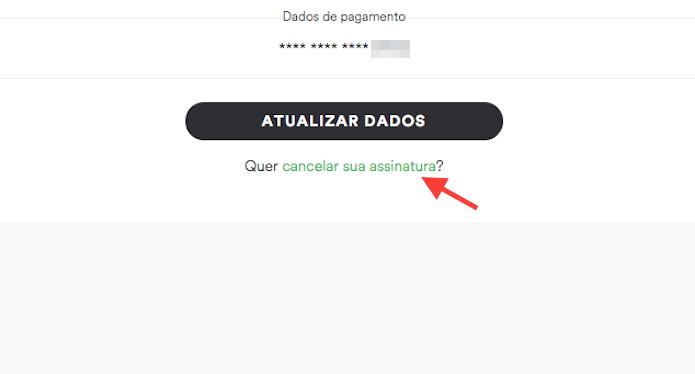 Acessando a página de cancelamento de assinatura do Spotify (Foto: Reprodução/Marvin Costa)
