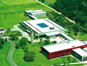 Visão aérea do CT do Caju, do Atlético-PR (Foto: Site oficial do Atlético-PR/Divulgação)