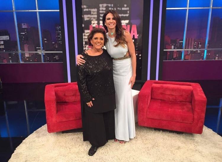 Leda com Luciana Gimenez (Foto: Reprodução/Instagram/@ledalanagle)