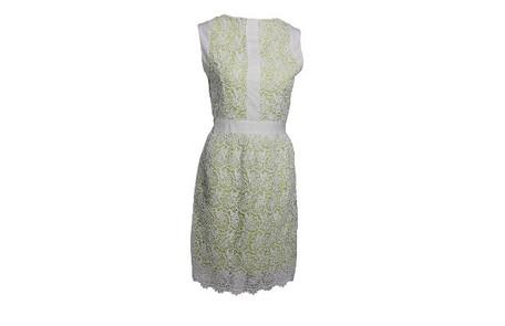 Vestido de renda branco e verde da Pathisa (R$ 220) Divulgação