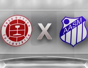 Desportiva Ferroviária x São Mateus (Foto: (Foto: Globoesporte.com))