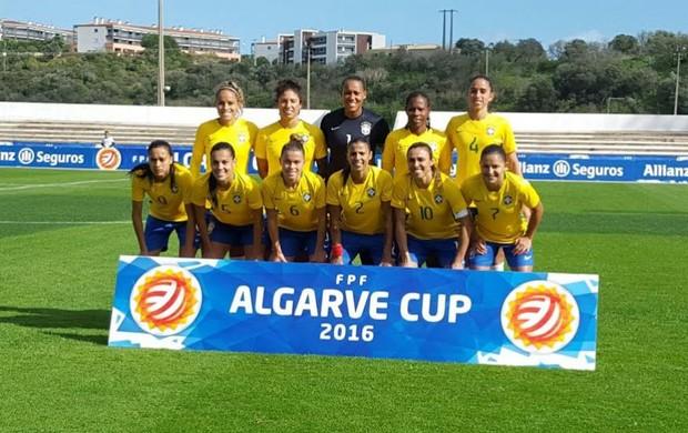 Seleção brasileira feminana Copa Algarve
