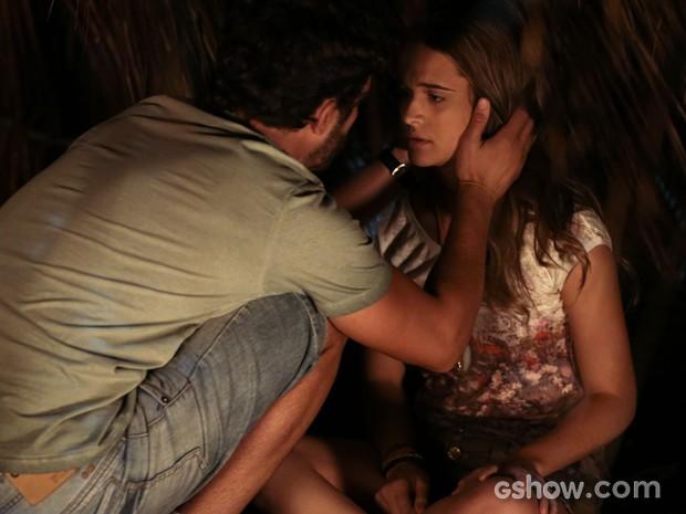 William confessa que não consegue ficar longe de Lili (Foto: Felipe Monteiro/TV Globo)