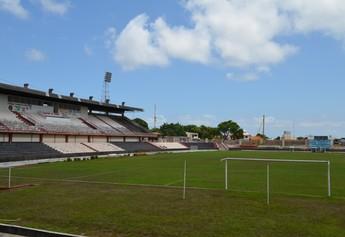 Estádio Colosso do Tapajós (Foto: Gustavo Campos - GLOBOESPORTE.COM)