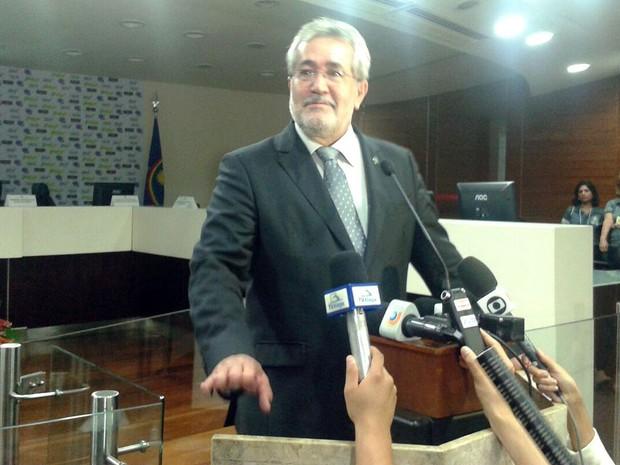 Fausto Campos, presidente do TRE-PE (Foto: Luna Markman / G1)