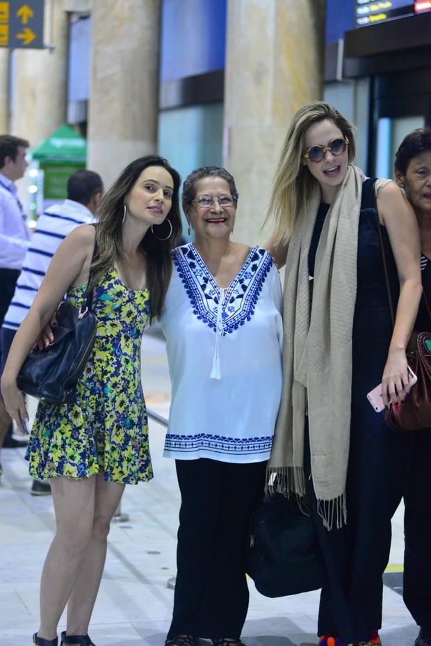 Ana Paula e Geralda (Foto: William Oda / AgNews)