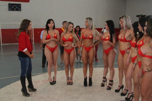 Candidatas a Miss Bumbum 2014 (Foto: Thiago Duran / AgNews)