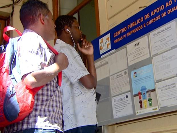 CPAT de Campinas oferece vagas de emprego (Foto: Reprodução/ EPTV)