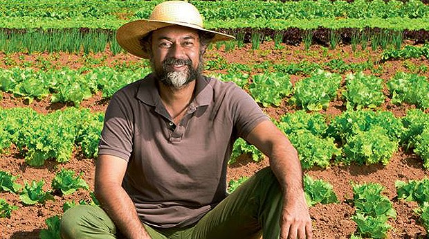 David Ralitera, fundador da Fazenda Santa Adelaide Orgânicos (Foto: Reprodução/Facebook)