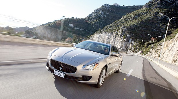 Maserati Quattroporte 2014 (Foto: Motor Trend/The New York Times Syndicate)