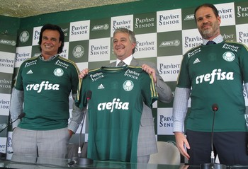Paulo Nobre patrocinador Palmeiras (Foto: Rodrigo Faber)
