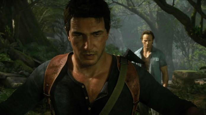 Novo game da Naughty Dog reúne o explorador Nathan Drake com seu irmão Sam (Divulgação/Sony)