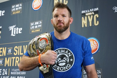 Ryan Bader; Bellator 180 (Foto: Evelyn Rodrigues)